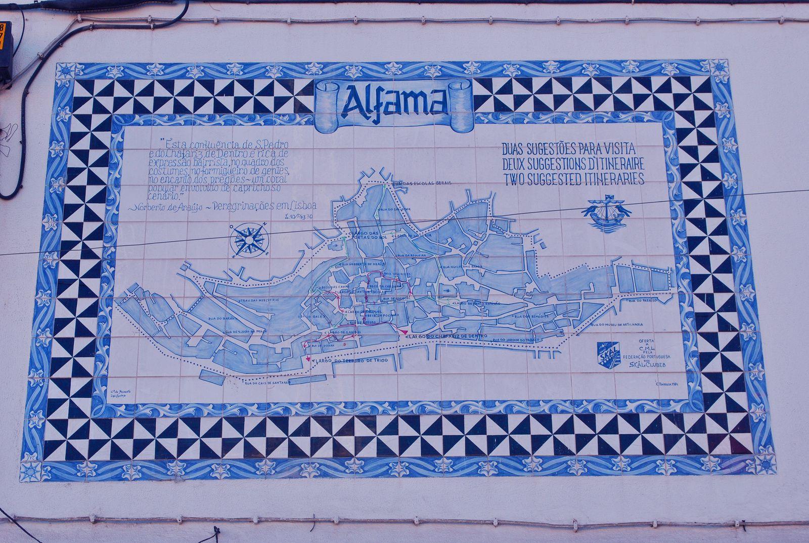Quartier Alfama, Lisbone