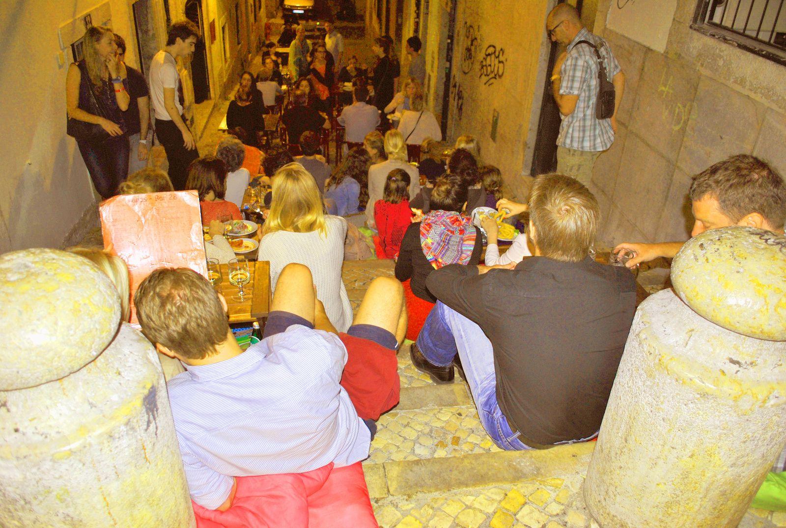Les petits restaurants du quartier Bairo Alto
