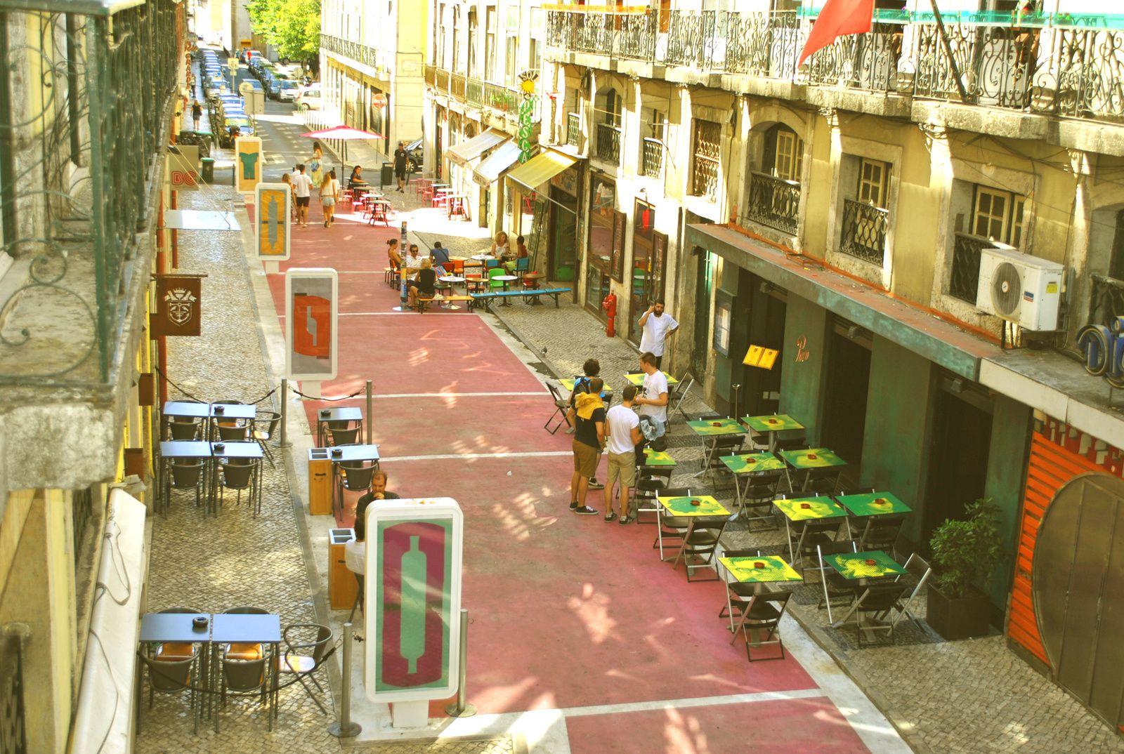 Le quartier le Chiado, Lisbone