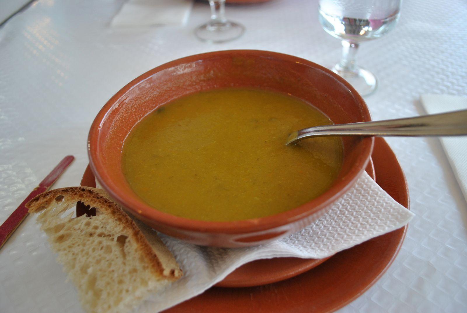 En plus d'une vraie bonne soupe de légumes