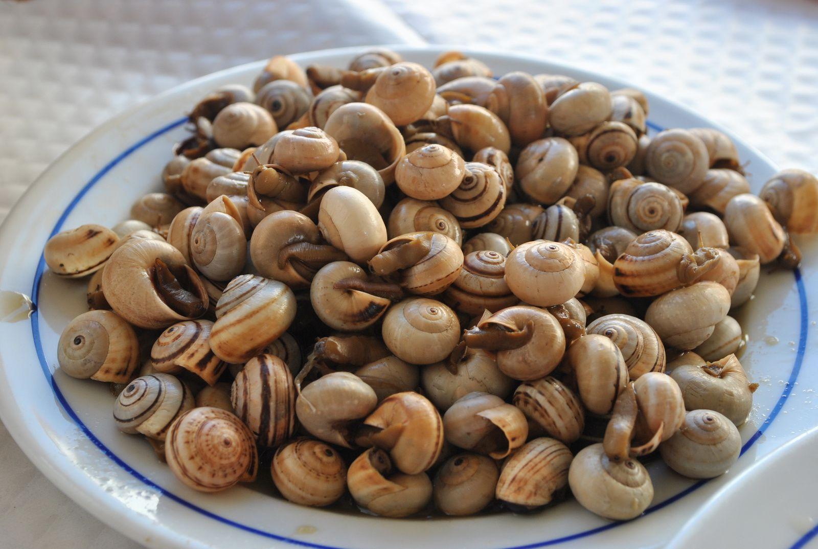 Une spécialité de Porto Covo, posée sur les tables, comme entrée