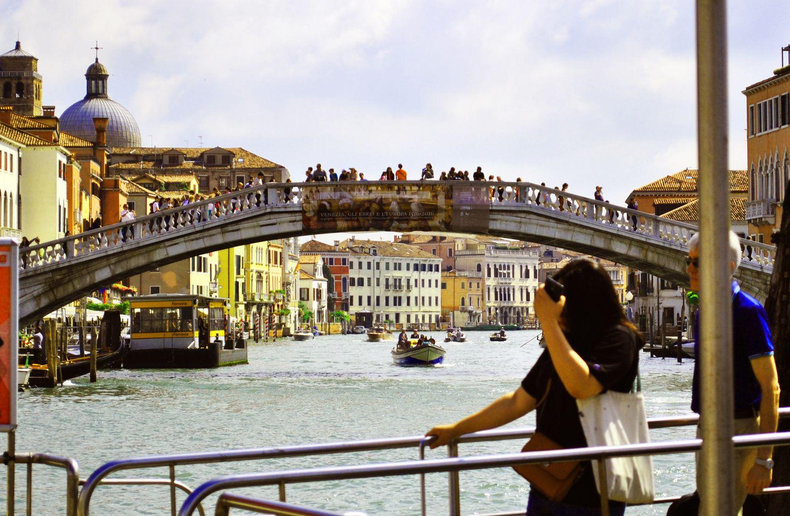L'un des ponts de Venise