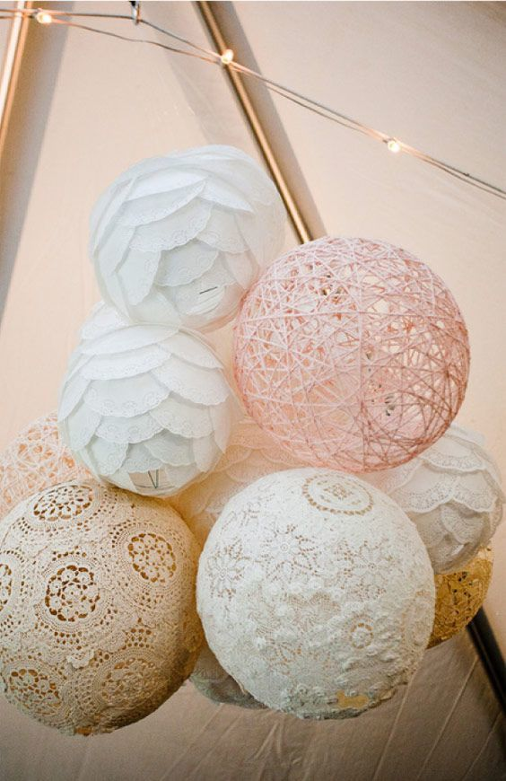 diy boules en ficelle deco gogo. Black Bedroom Furniture Sets. Home Design Ideas