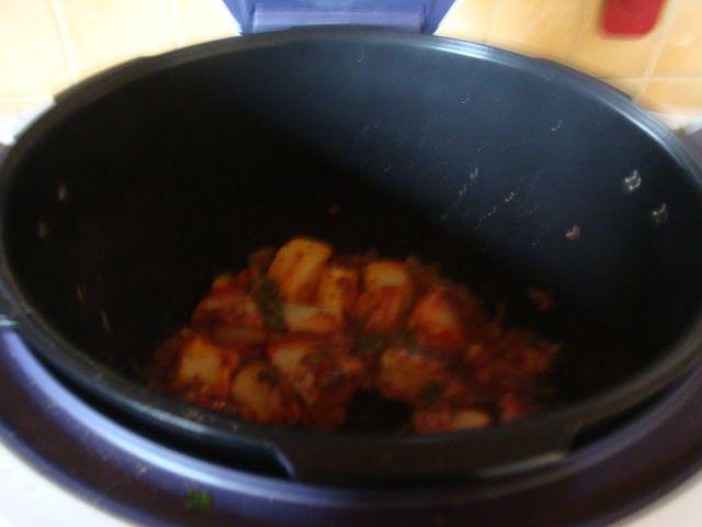 Pomme de terre !!! cookeo usb