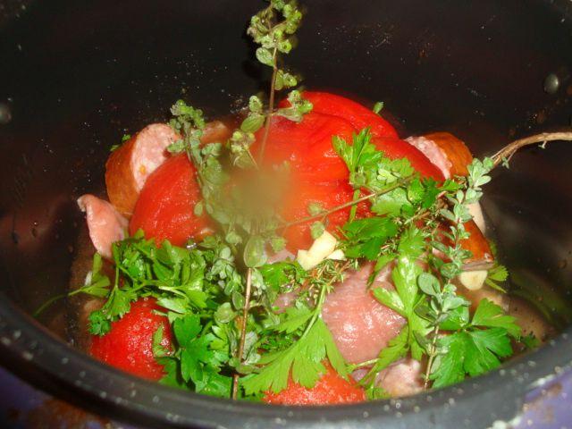 Lentilles a la provençale !!!diététique!!!cookeo