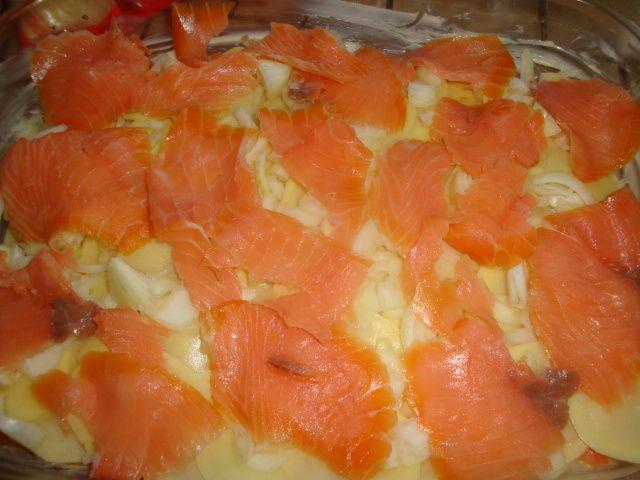 La tartiflette irlandaise (au saumon et comté)