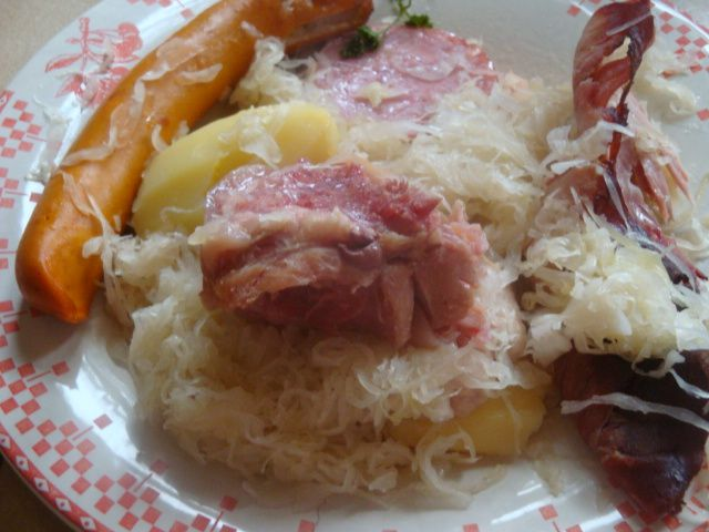 Choucroute aux champagne  tupperware + cookeo usb