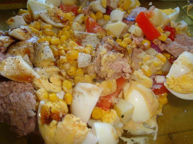 Salade de pomme de  terre maison