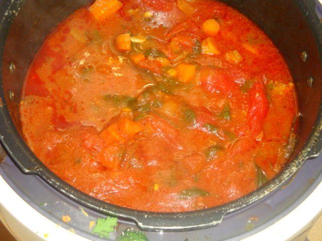Sauce bolognaise....cookeo usb