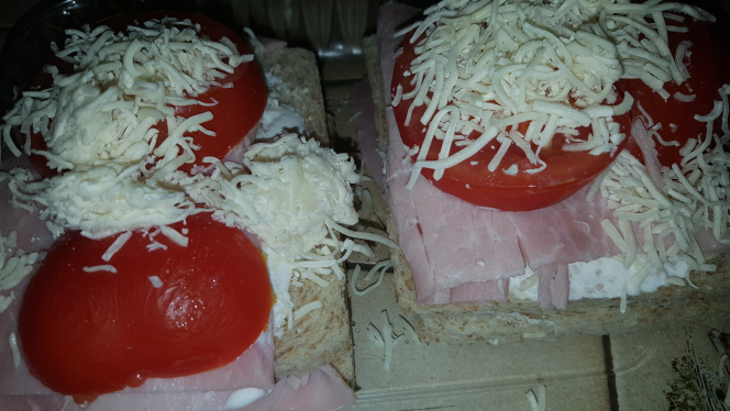 Croque monsieur ww