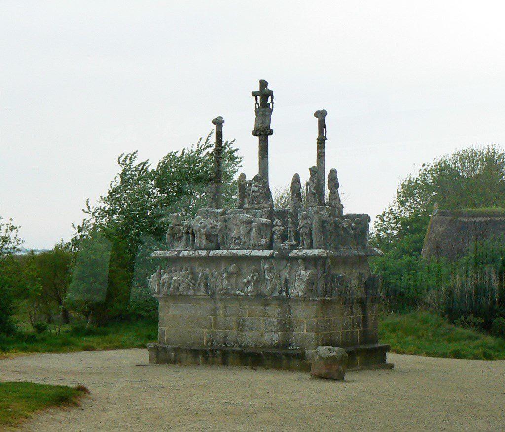 Calvaire de Tronoën, commune de Saint-Jean-Trolimon