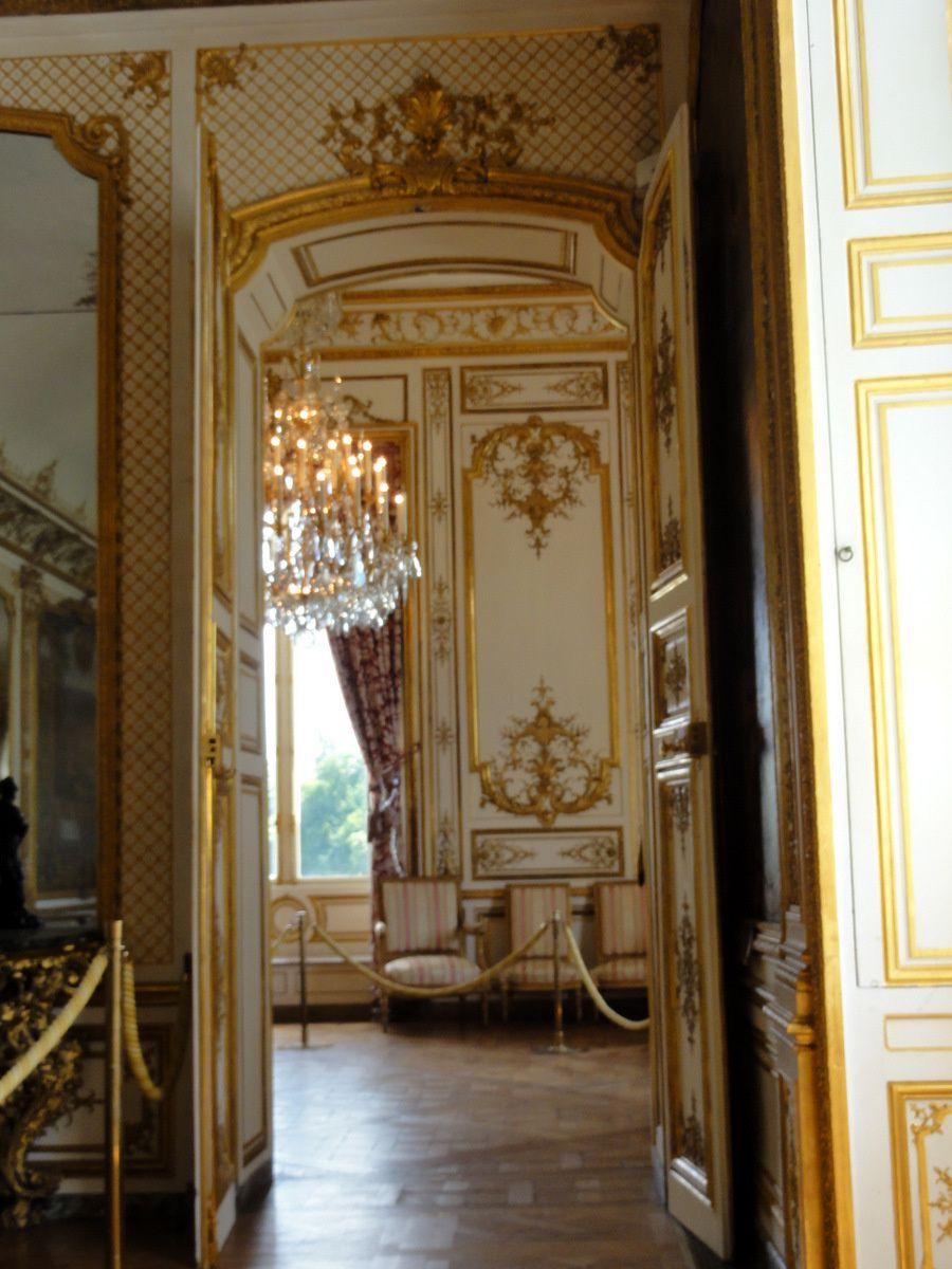 Harpe du salon de musique du ch teau de chantilly le - Architecte chantilly ...
