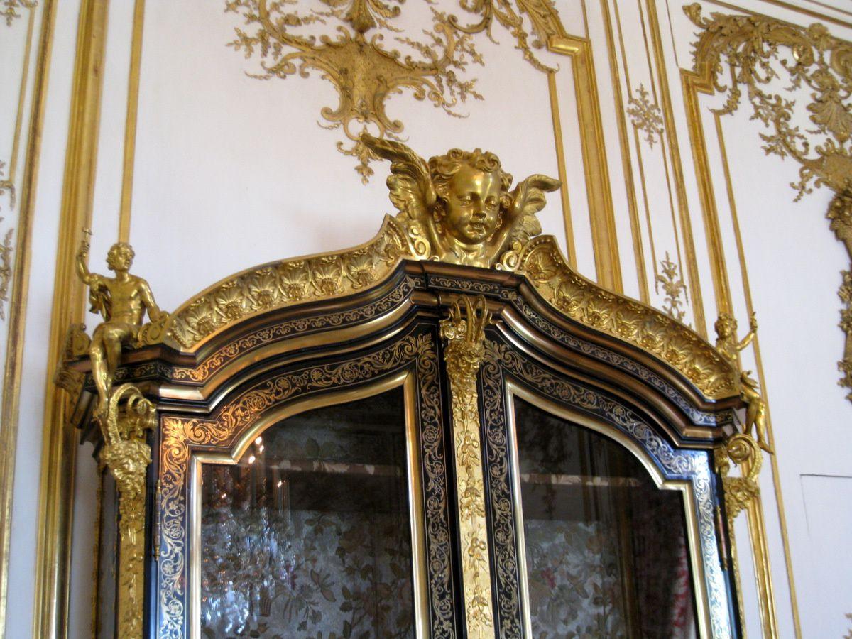 Grande armoire en marqueterie Boulle (1/2), château de Chantilly