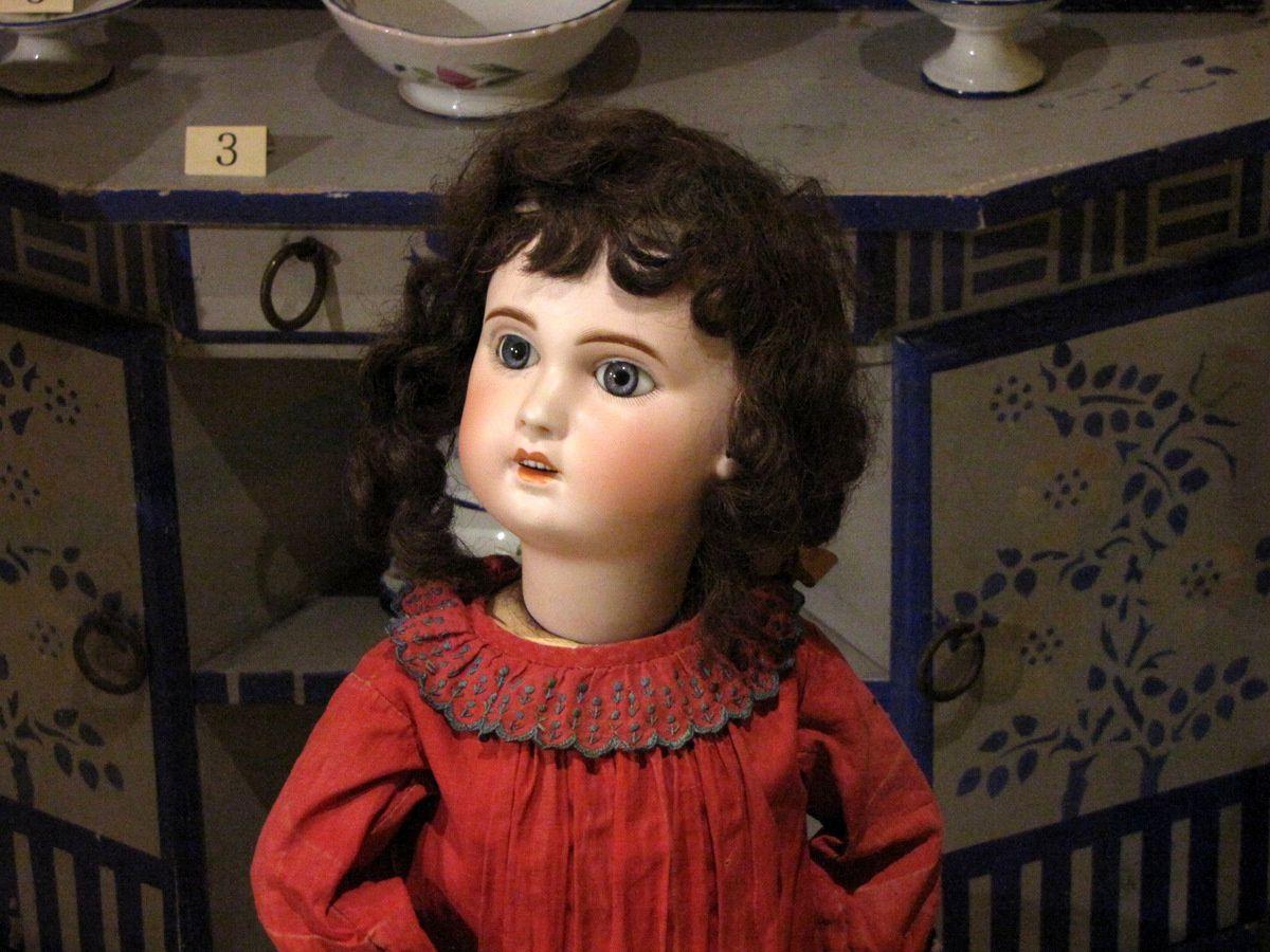 Poupée Société Française de Bébés et Jouets (1910), musée du jouet de Poissy