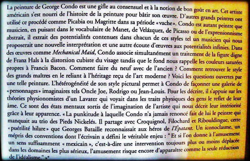 Metamorphosis (2006), George Condo