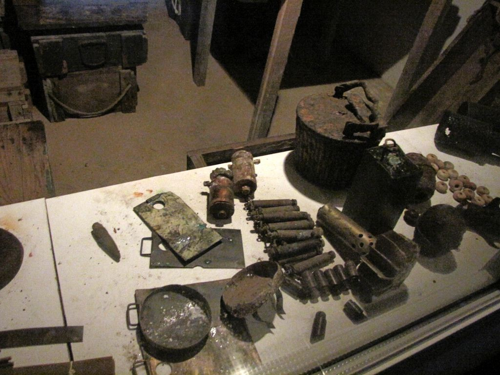 Soute à munitions, batterie de Crisbeck (Saint-Marcouf)