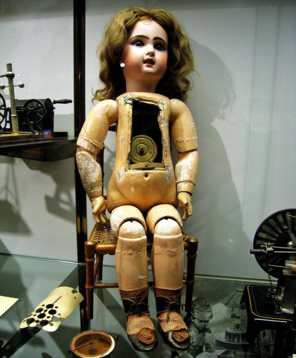 Bébé phonographe (poupée parlante), Lioret-Jumeau