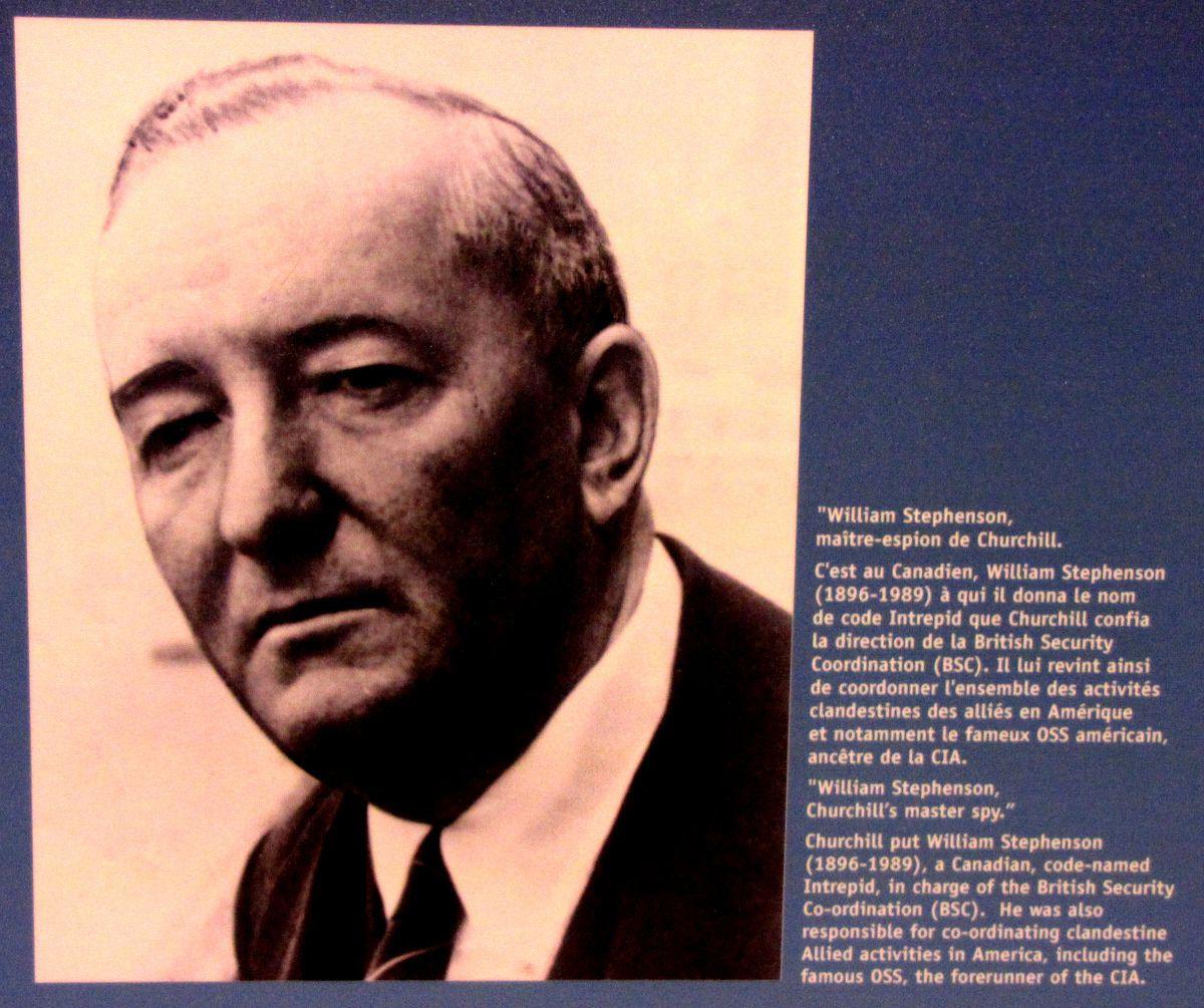 William Stephenson, maître-espion de Churchill
