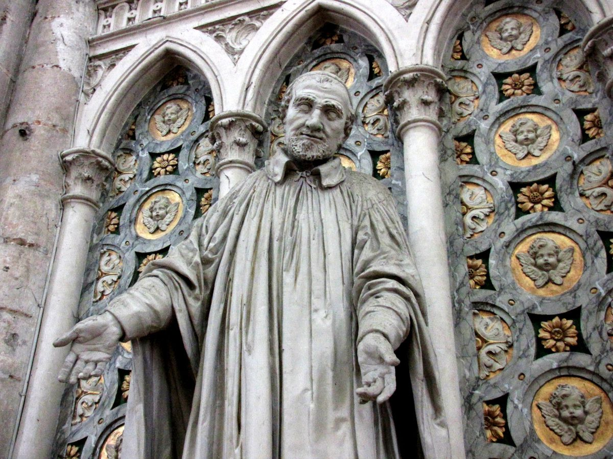 Saint Vincent de Paul, cathédrale d'Amiens