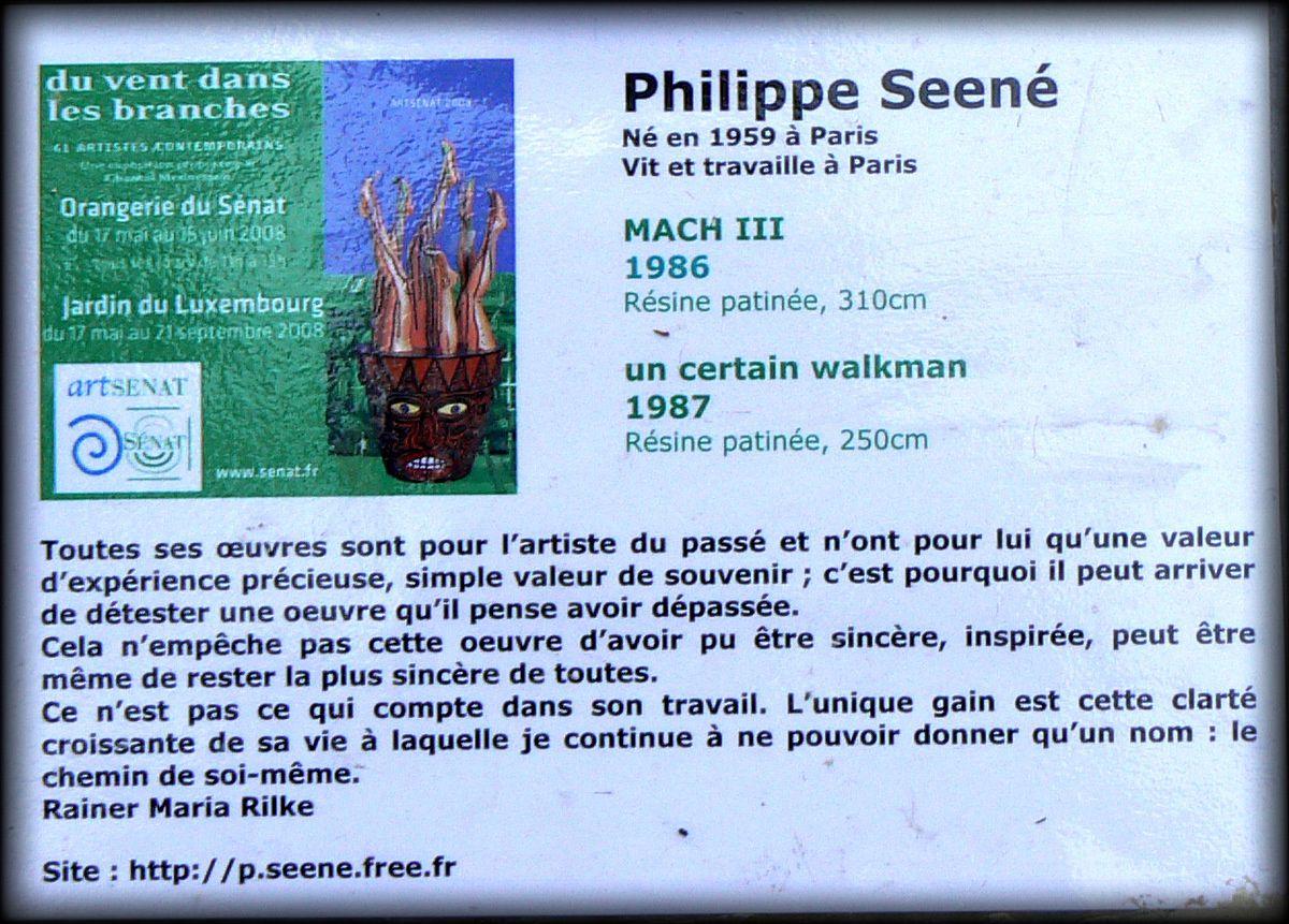 Philippe Seené, un certain walkman