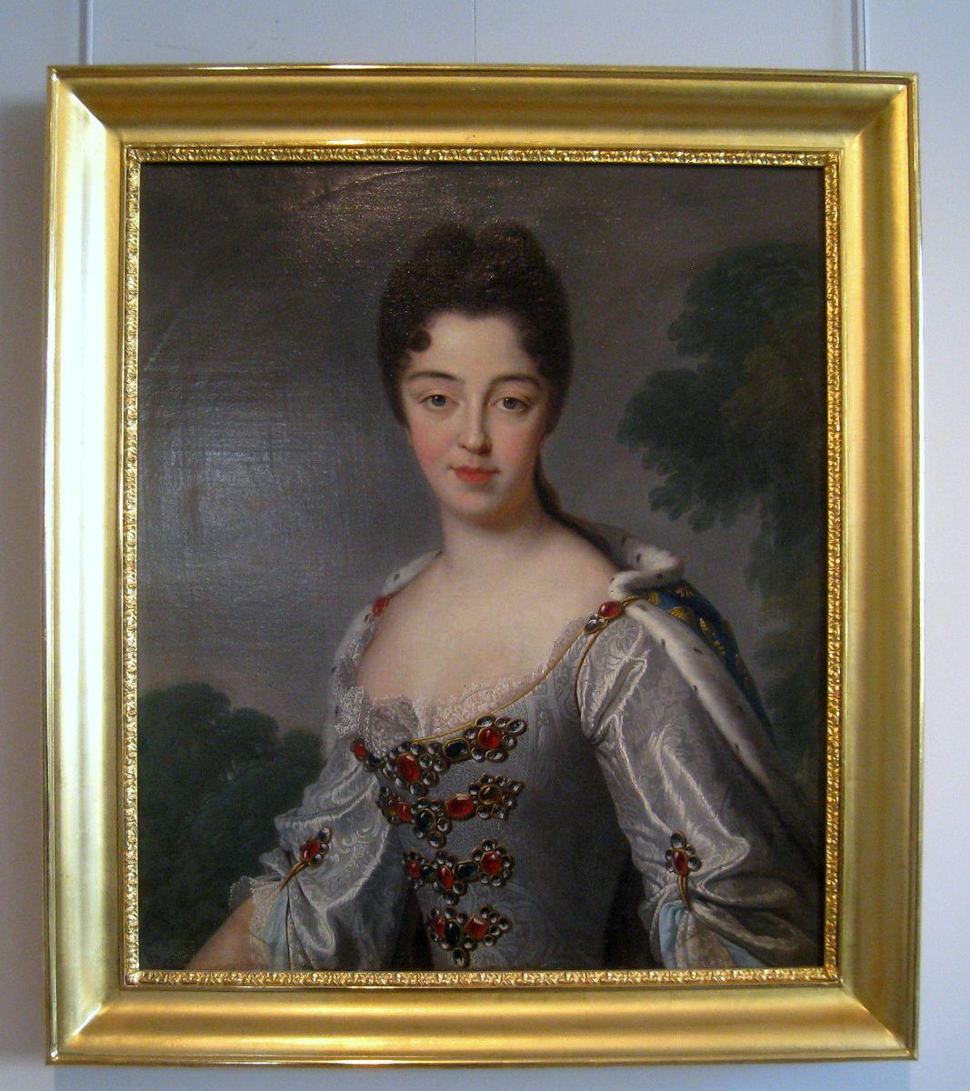Marie-Adélaïde de Savoie (portrait) d'après Jean-Baptiste Santerre