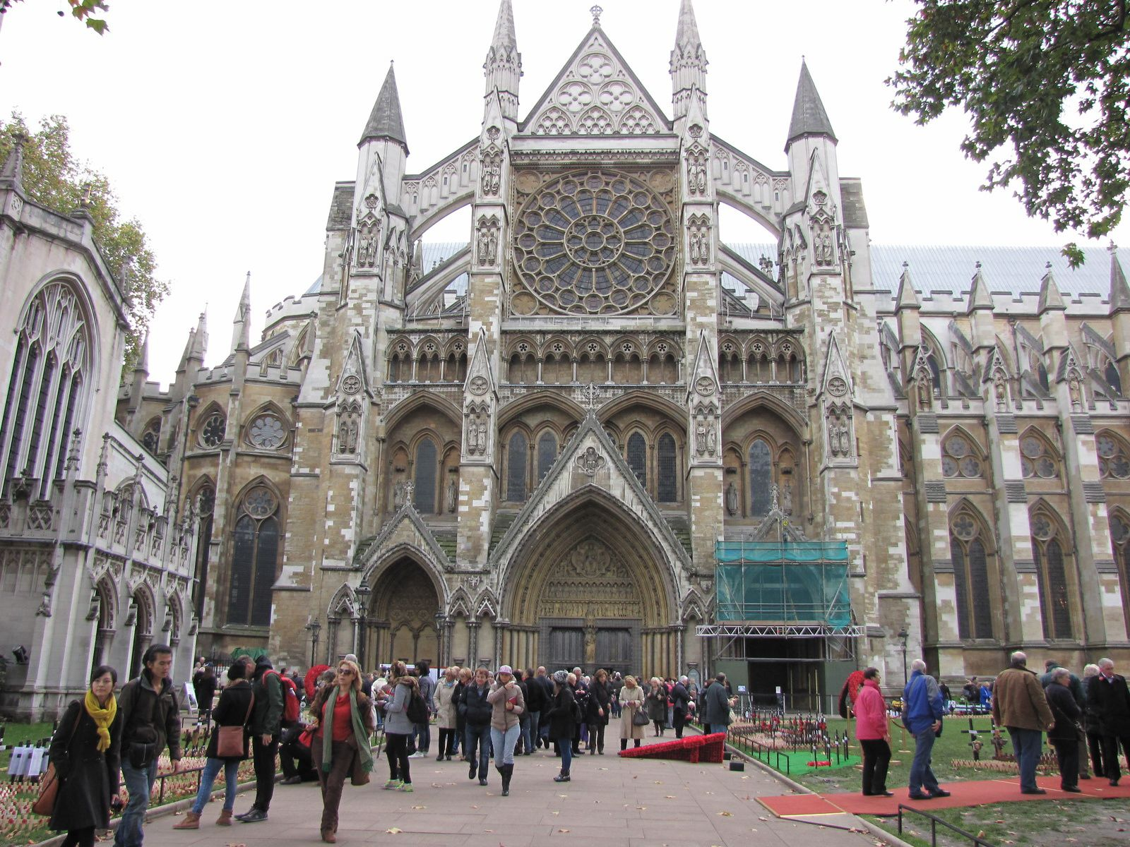 Les coquelicots du Centenaire de la Première Guerre Mondiale (Londres)