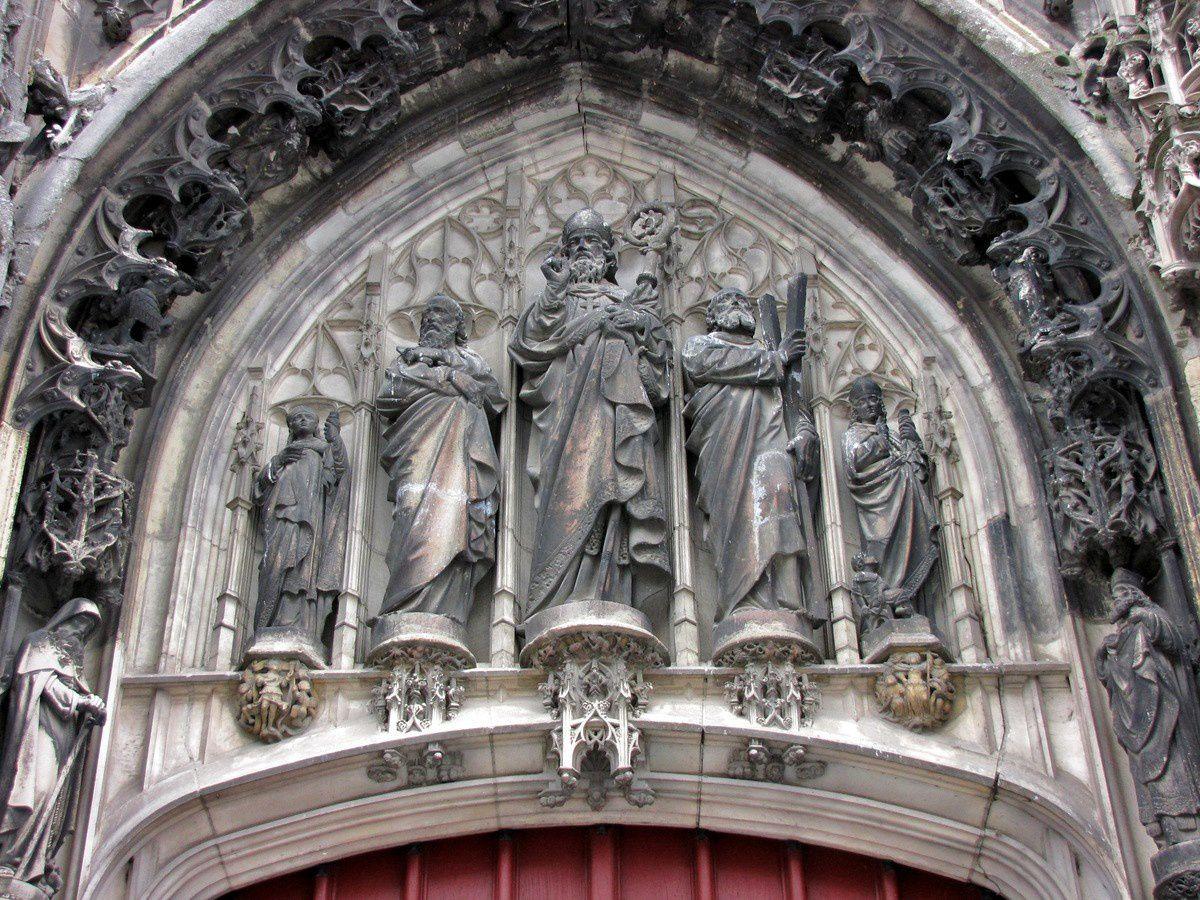 Portails de l'église Saint-Germain-l'Ecossais (1/2), Amiens