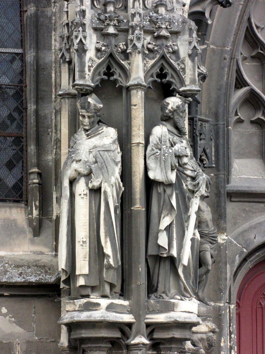 Portails de l'église Saint-Germain-l'Ecossais (2/2), Amiens