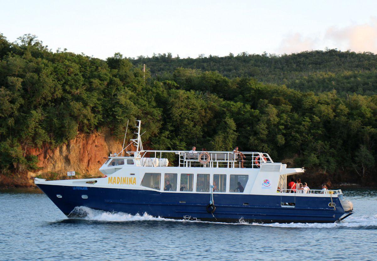 Navettes maritimes en Martinique