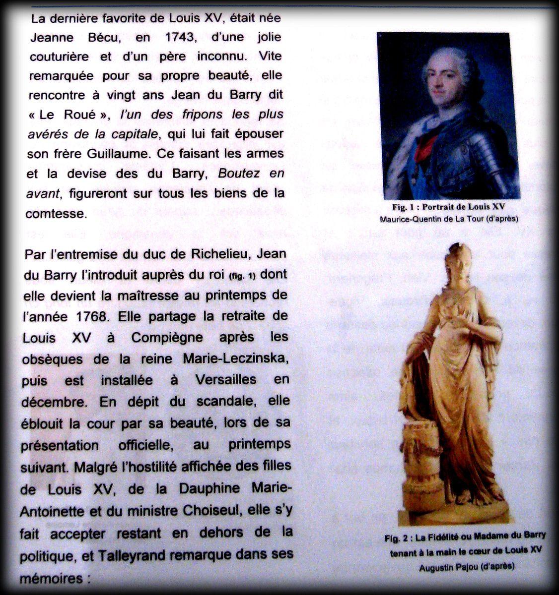 Buste de Madame du Barry d'après Auguste Pajou