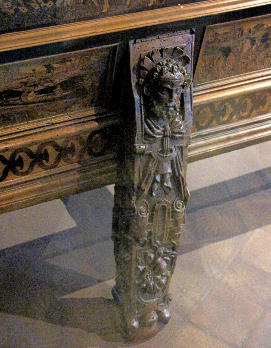 Banc d'orfèvre d'Auguste 1er de Saxe (1/2)