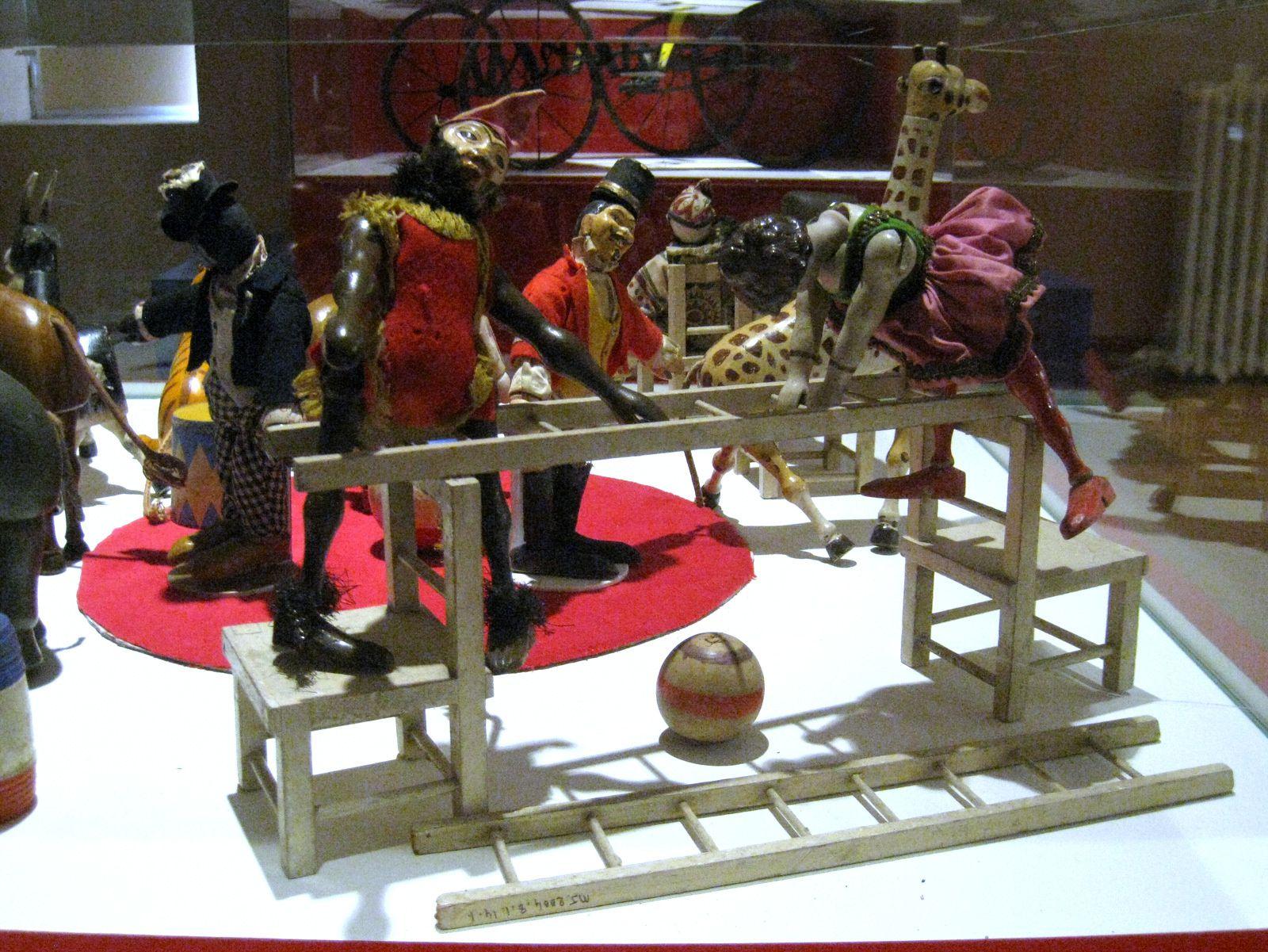 Cirque Humpty-Dumpty, musée du jouet de Poissy
