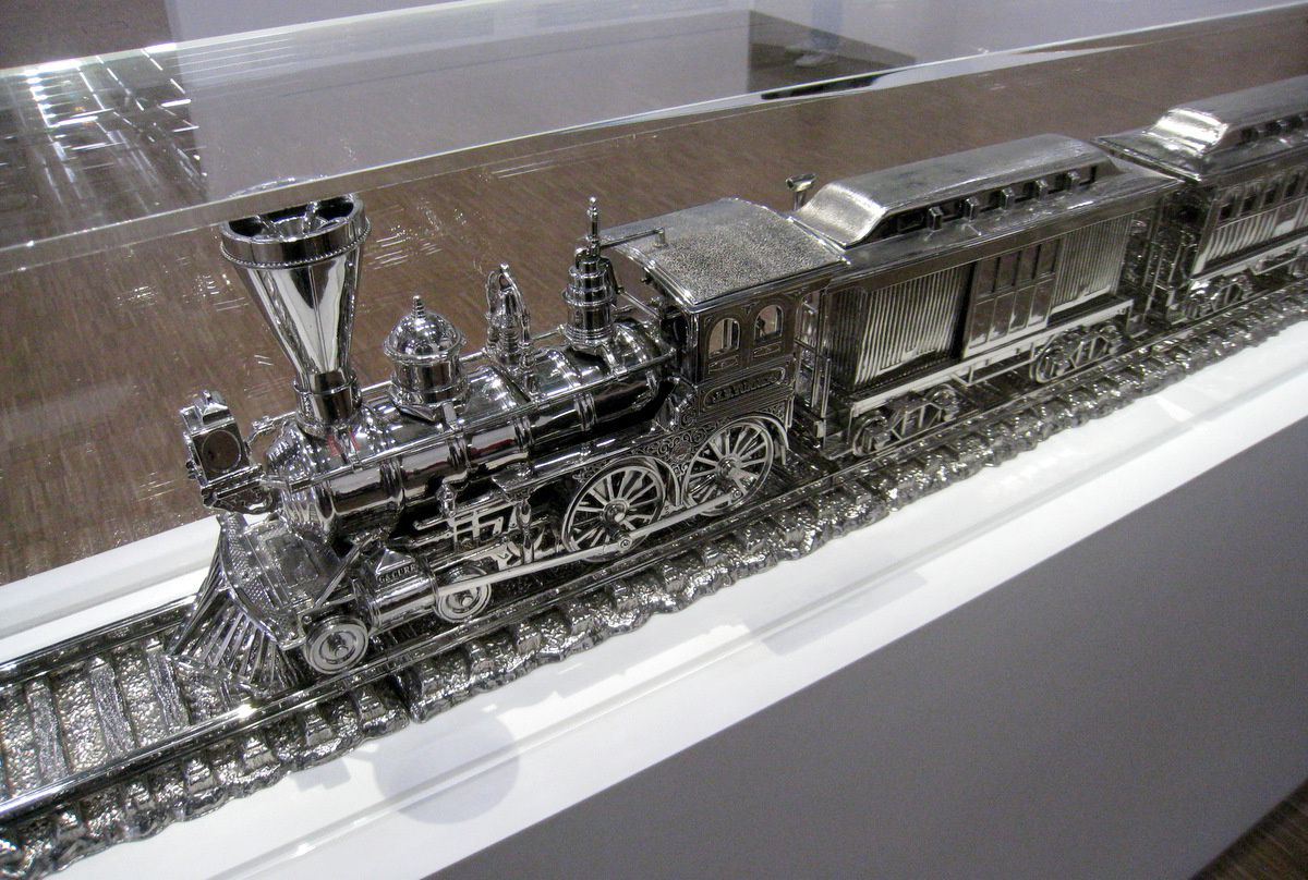 Jim Beam - J.B. Turner Train, Jeff Koons