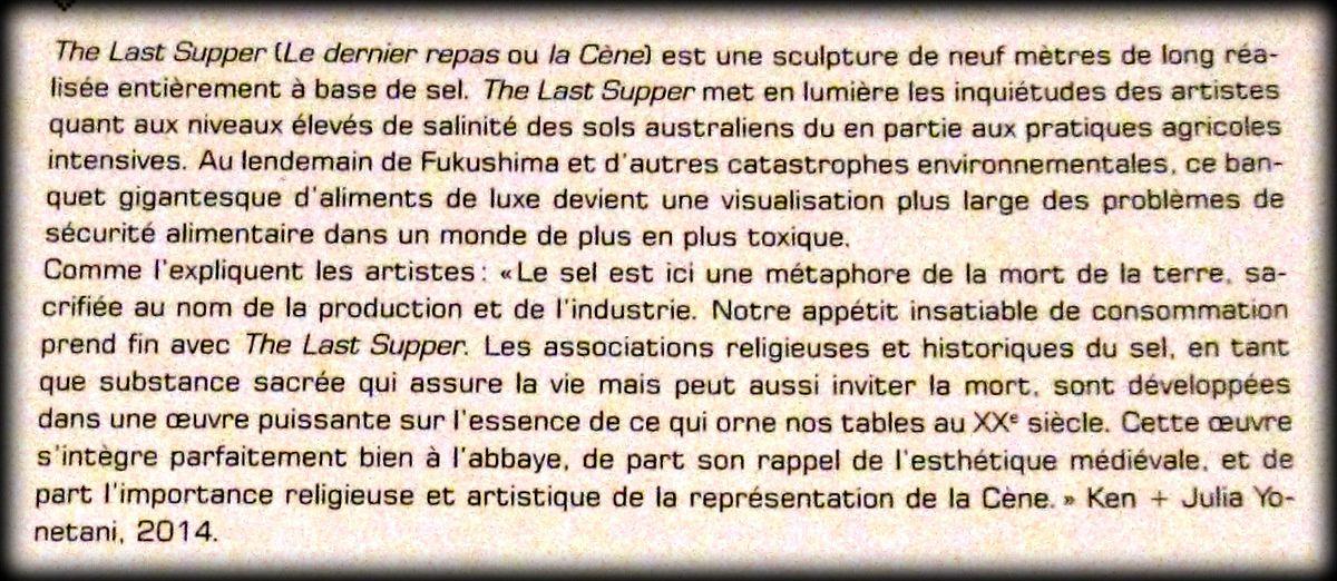Un autre rêve (1/4), exposition de Ken et Julia Yonetani (Abbaye de Maubuisson)