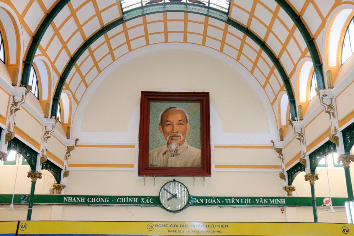 La poste de Saïgon (Hô-Chi-Minh-Ville)