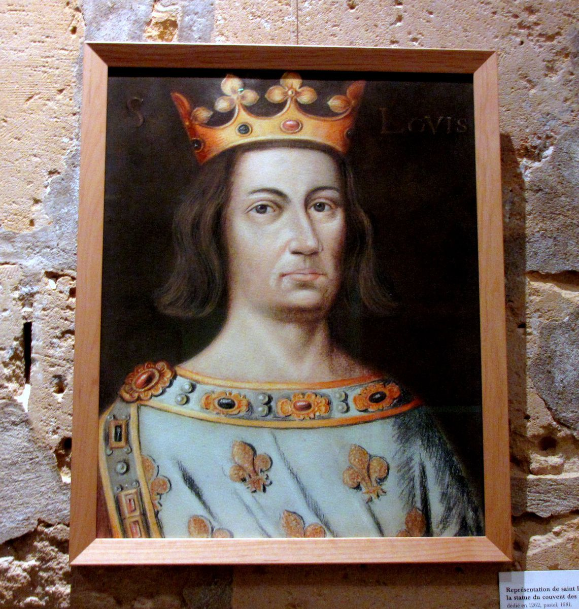 Evocation de Louis IX au prieuré royal St Louis à Poissy (2/2)