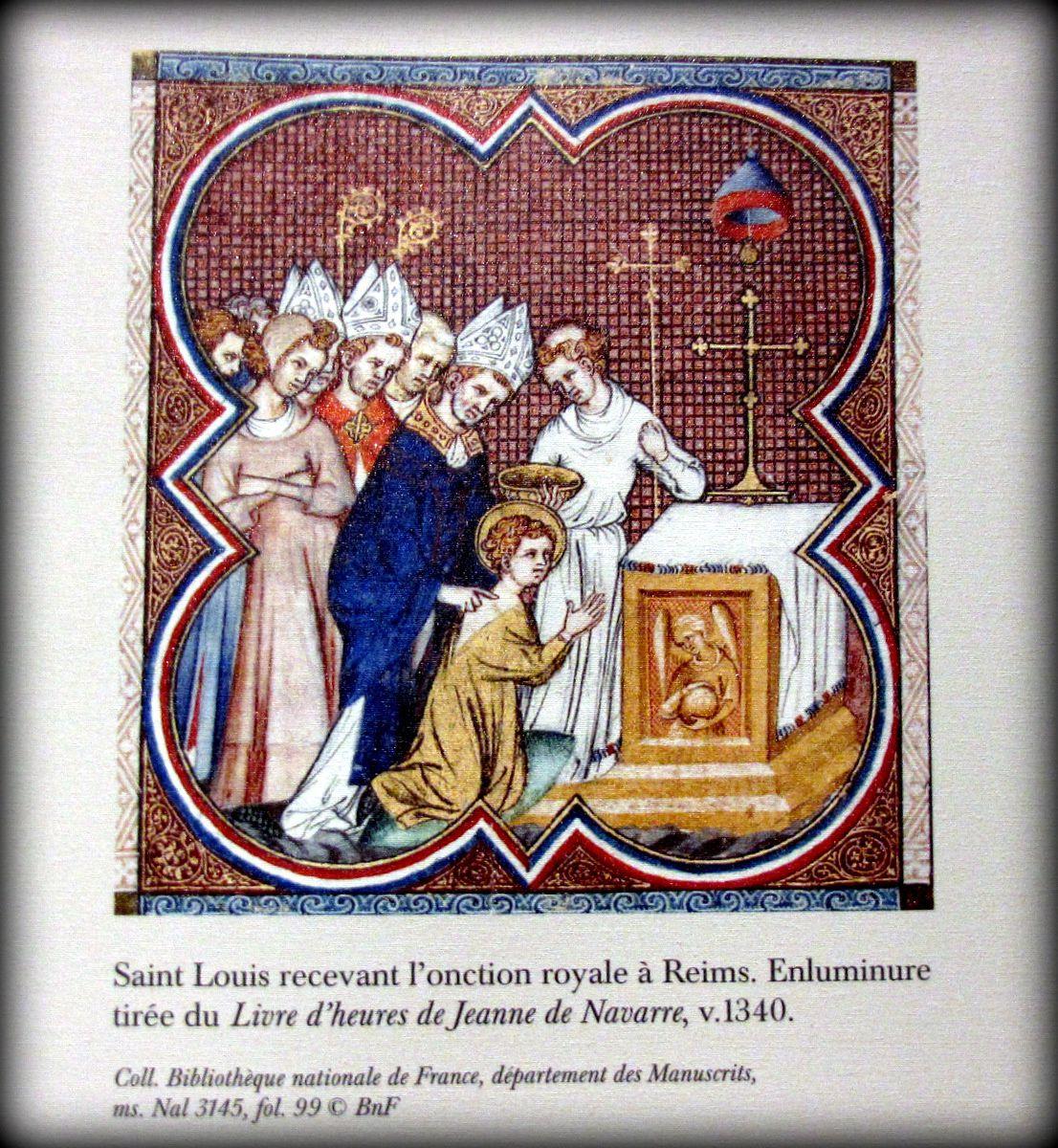 Evocation de Louis IX au prieuré royal St Louis à Poissy (2/2)