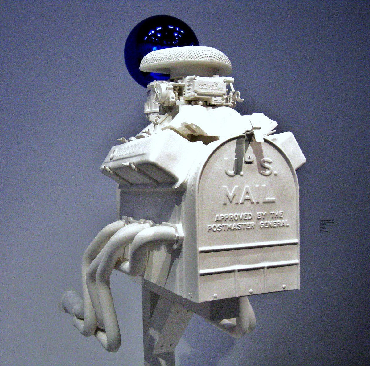Gazing Ball (Mailbox) par Jeff Koons