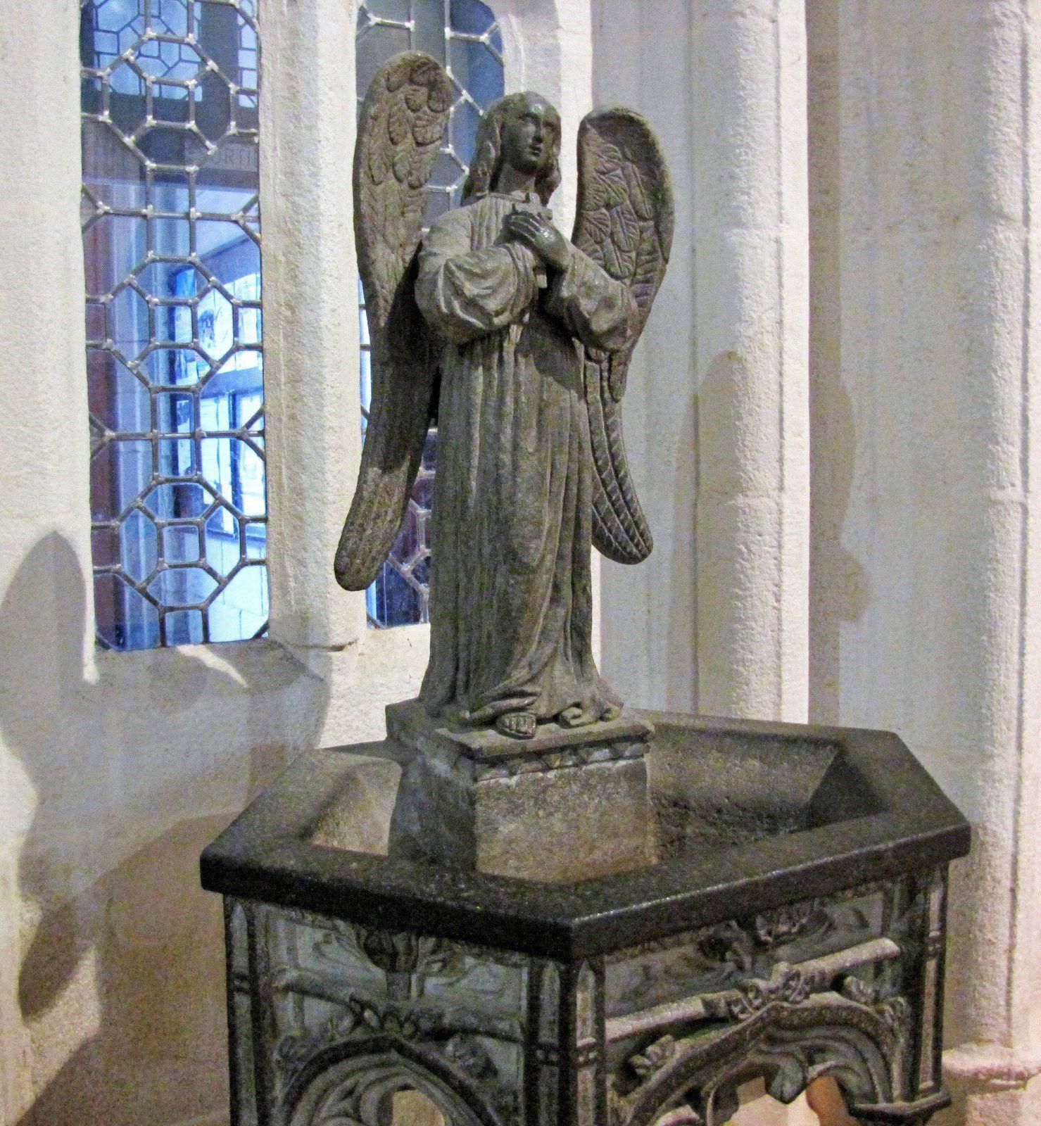 Santik Du (Le petit saint noir), cathédrale de Quimper