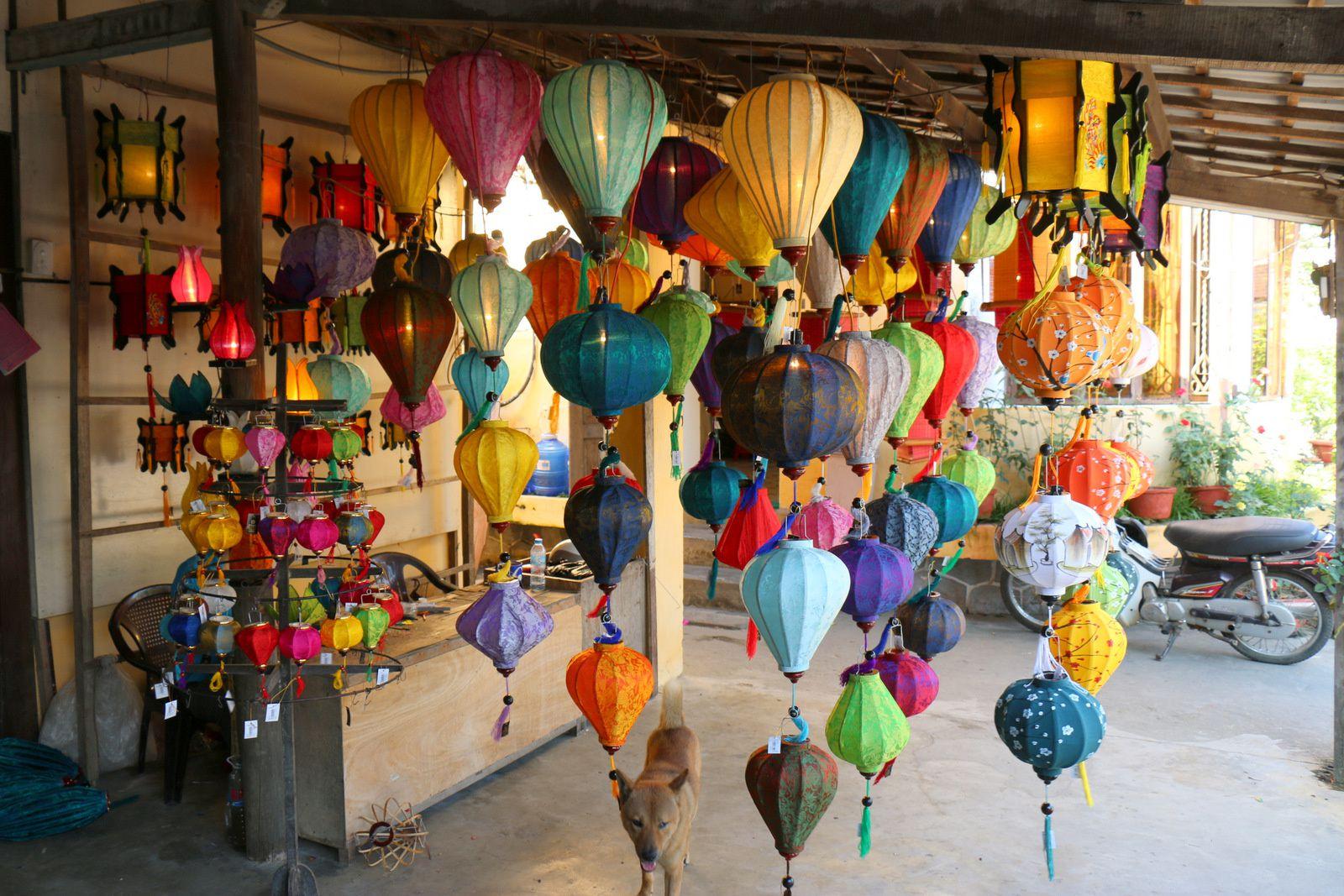Fabrique de lampions Thang Loi, Hôi An