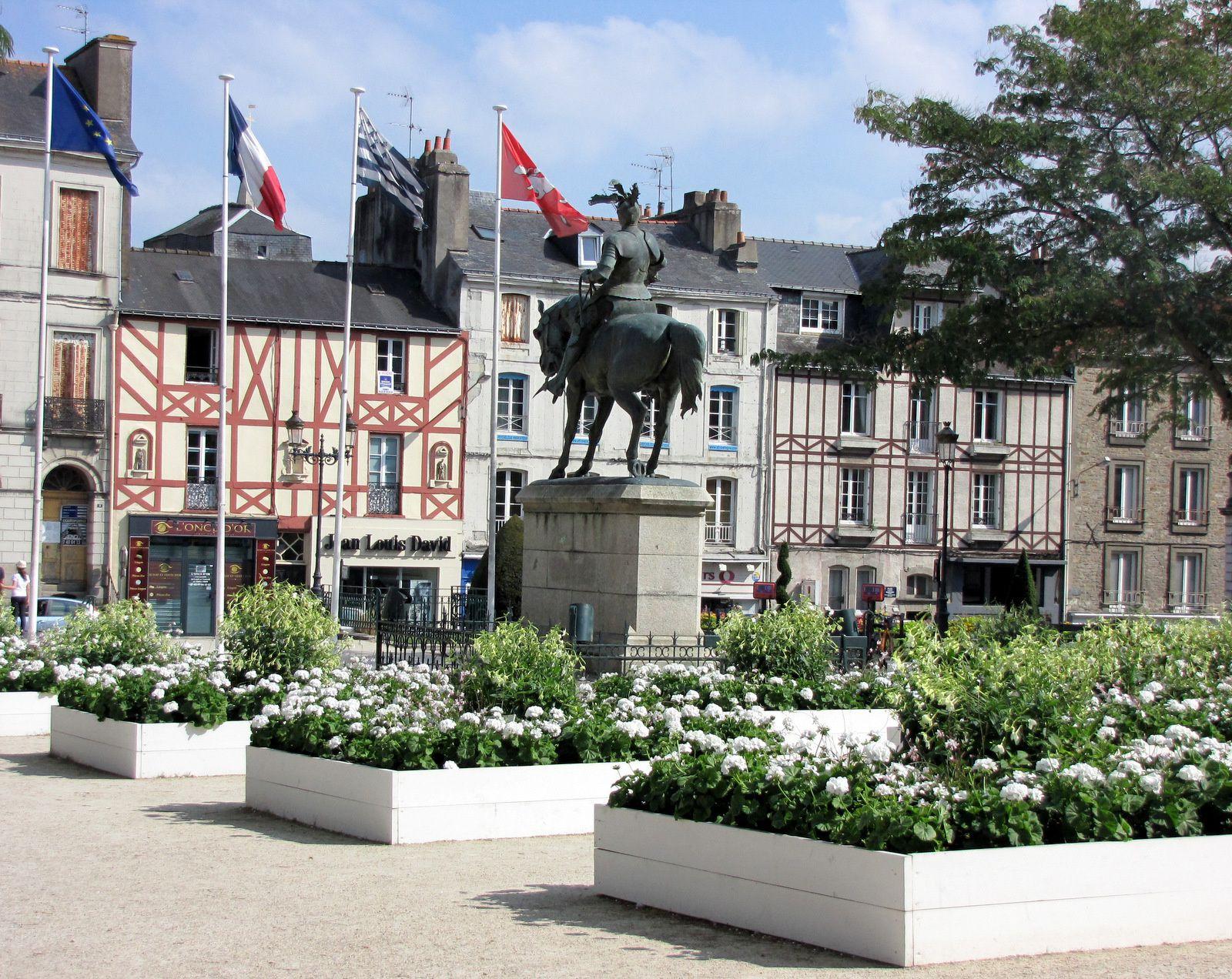 Statue équestre d'Arthur de Richemont, connétable de France