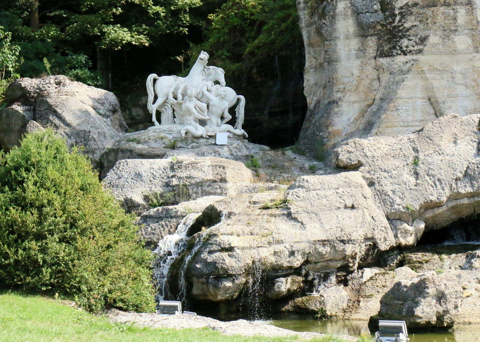 Bosquet des Bains d'Apollon, jardins du château de Versailles