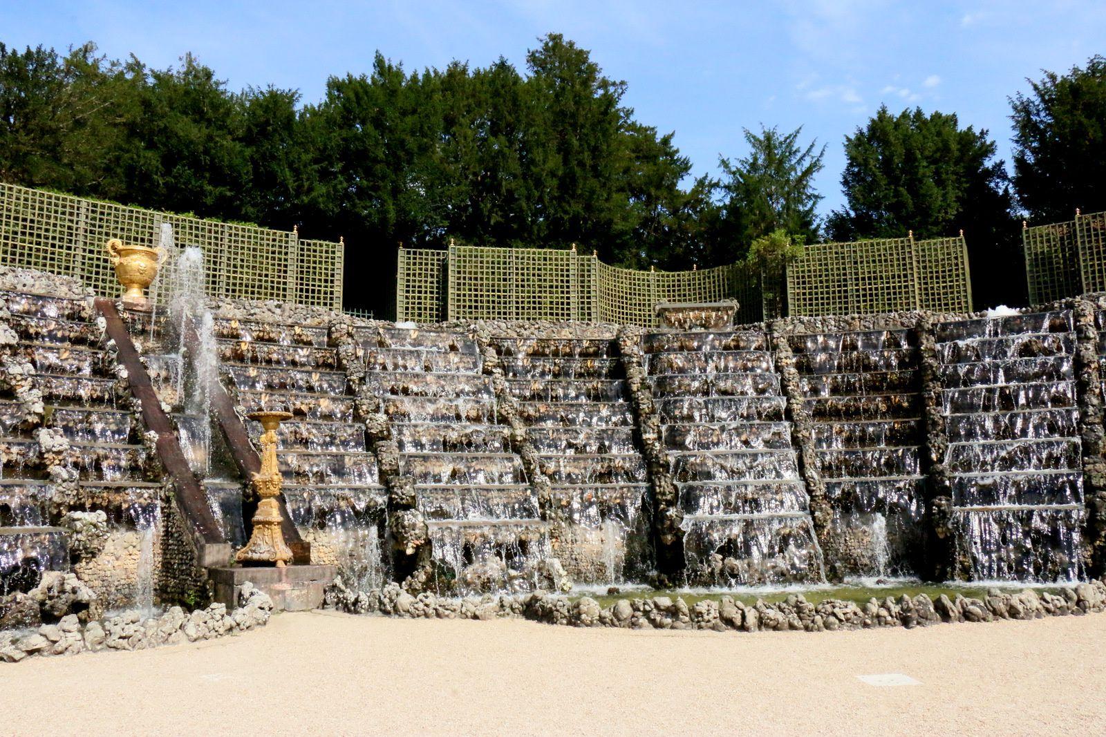 Bosquet de la Salle de Bal,  jardins du Château de Versailles