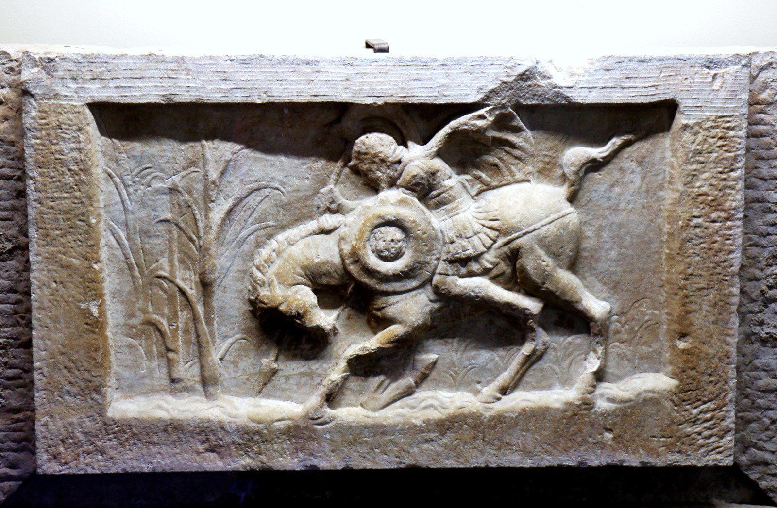 Musée Eros du Colisée de Rome, sculptures