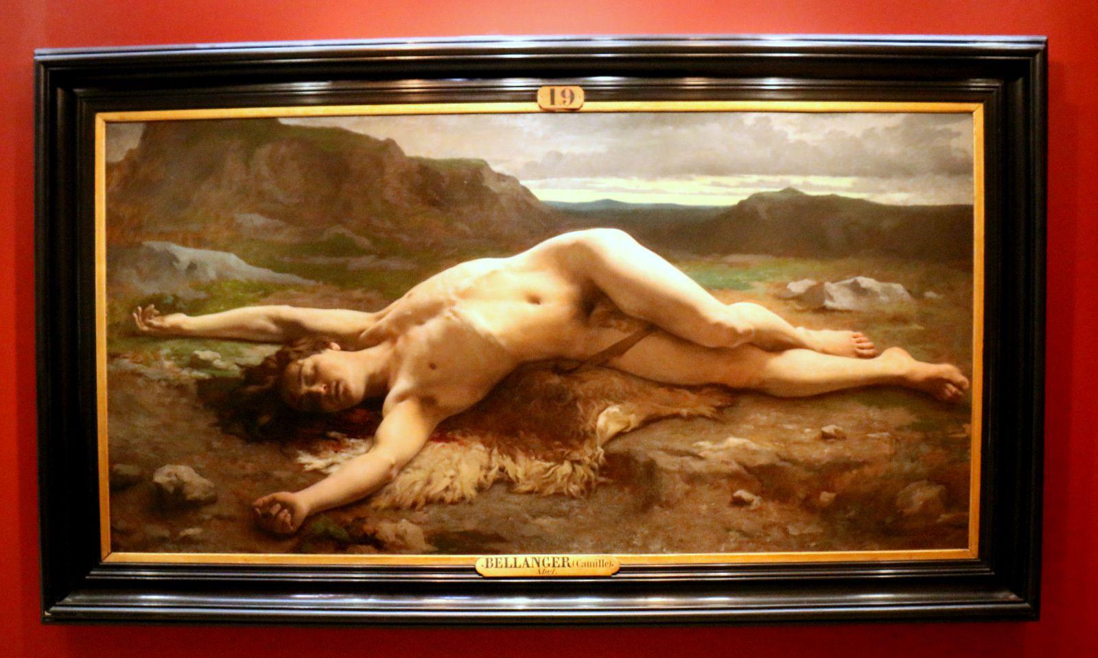 Abel, tableau de Camille Félix Bellanger