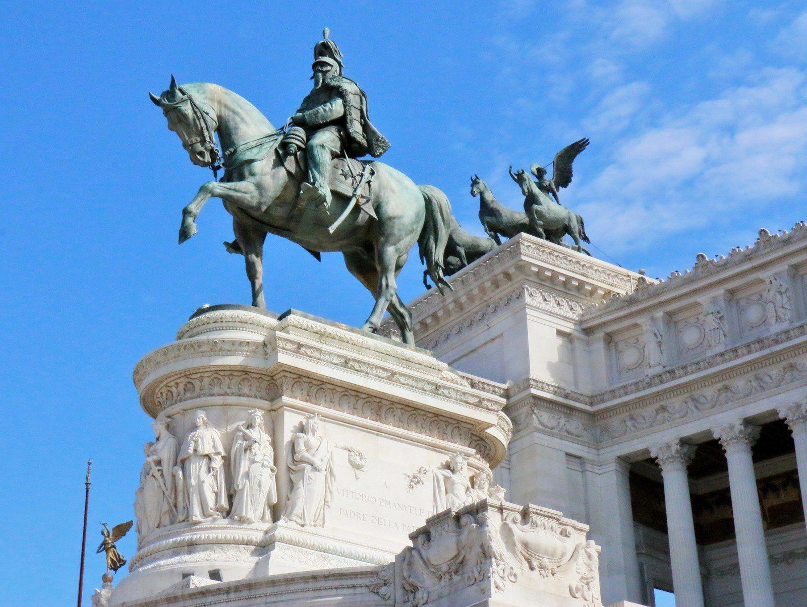 Le monument à Victor-Emmanuel II, Rome
