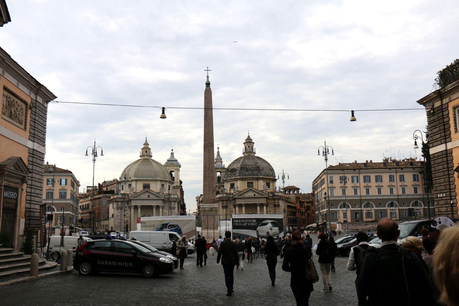 La Plazza del Popolo, Rome
