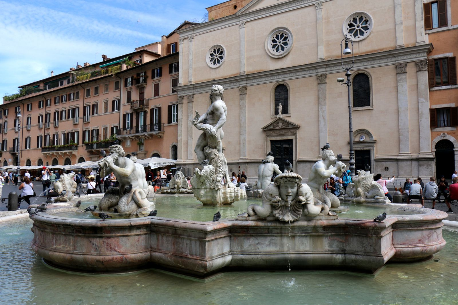 Fontaine de Neptune, piazza Navona (Rome)