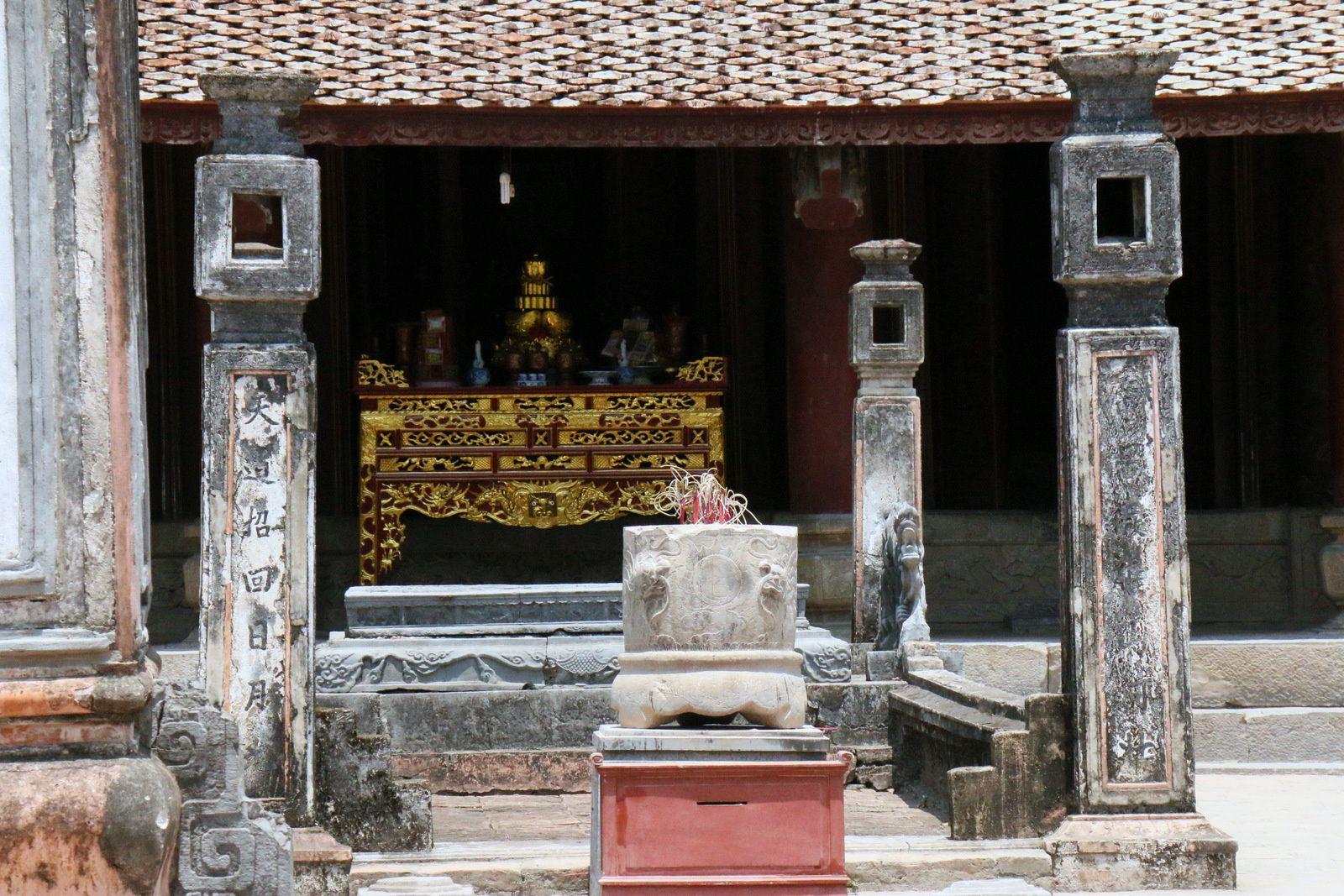 Arrivée au temple du roi Dinh Tiên Hoang, Vietnam