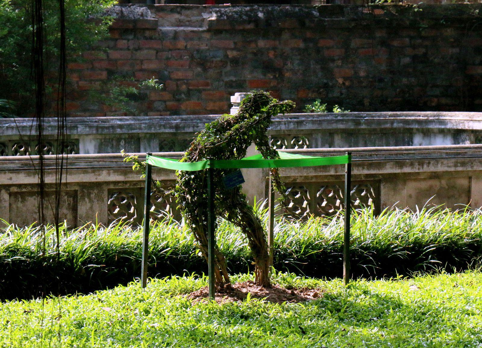 Art topiaire, temple de la littérature Van Miêu-Quôc Tu Giam